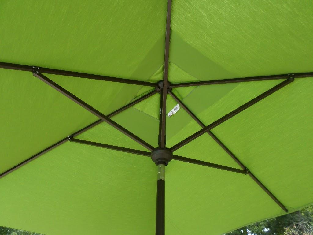 rectangular patio umbrella frame