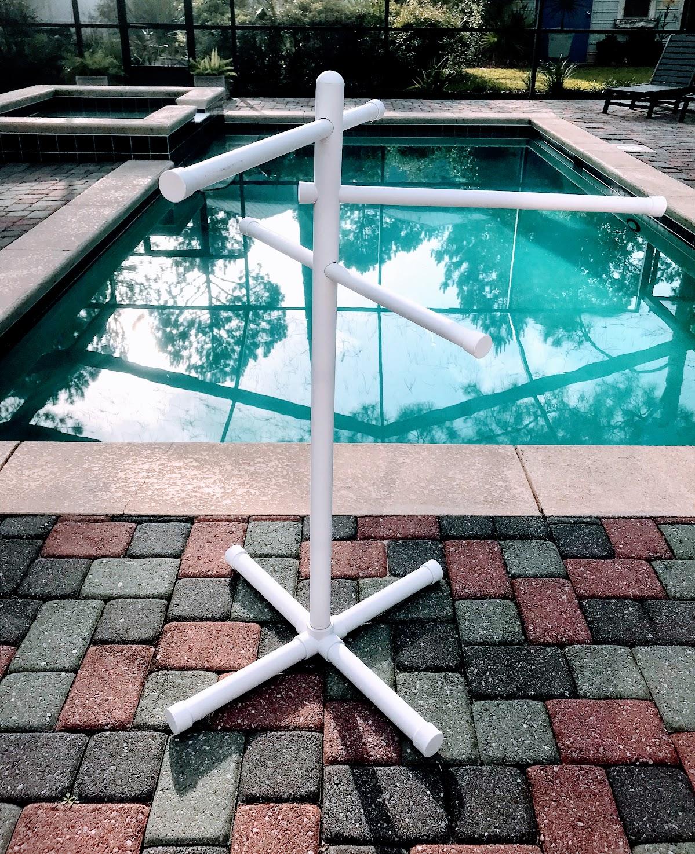 pool towel bar