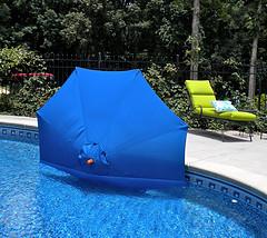 windproof your pool umbrella