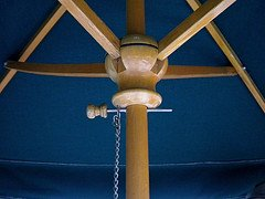 types of wood market umbrellas